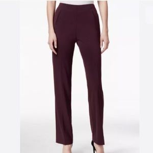 Style & Co Women Tummy-Control Straight-Leg Pants